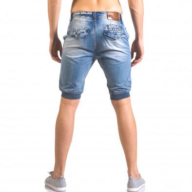 Мъжки къси дънки тип потури ca050416-68 3