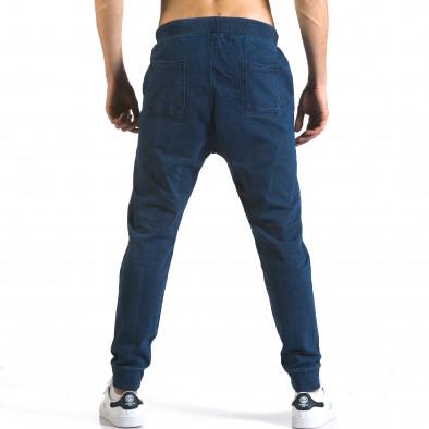 Мъжки сини потури с ефект на дънки Enos 5