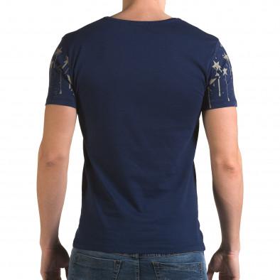 Мъжка синя тениска Armystar il120216-38 3