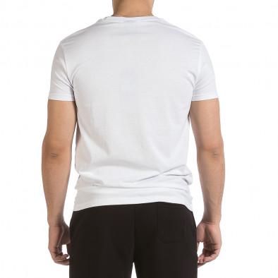 Мъжка бяла тениска Sweet Years it040621-14 3