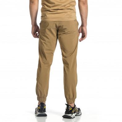 Мъжки шушляков панталон Jogger цвят каки tr150521-29 4