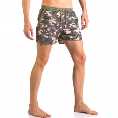 Мъжки бански тип шорти камуфлажни ca050416-2 4