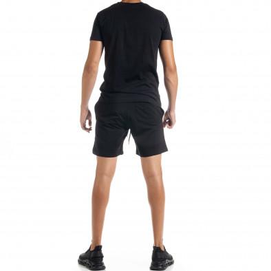 Черен мъжки спортен комплект Moon tr010720-2 3
