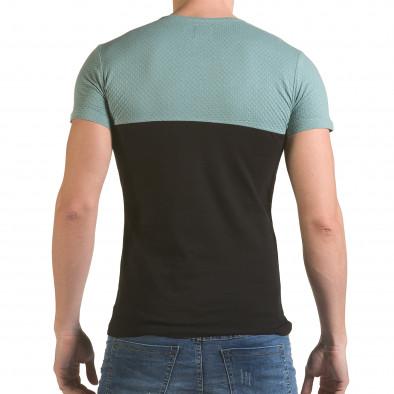 Мъжка зелено-черна тениска One Thousand Years Ago il170216-84 3