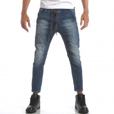 Мъжки дънки с ластик на кръста it160817-1 2