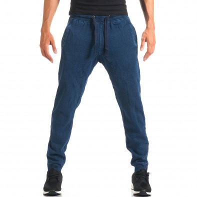 Мъжки сини потури с ефект на дънки it160816-35 4