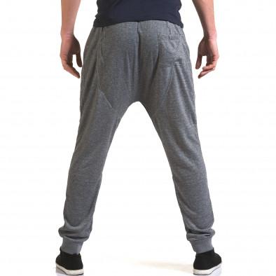 Мъжки светло сиви потури с ципове на джобовете it090216-37 3