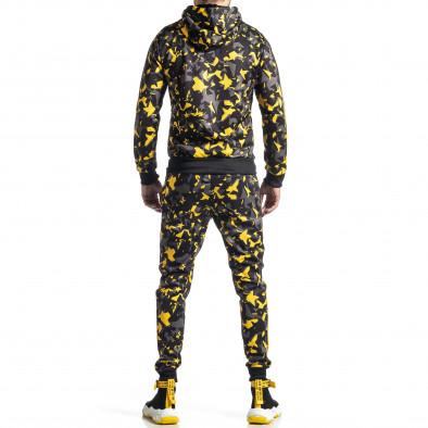 Мъжки анцуг черно-жълт All over print it010221-52 6