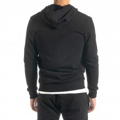 Basic мъжки суичър в черно tr020920-39 3