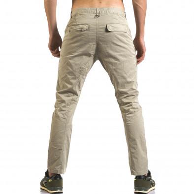 Мъжки зелен панталон с допълнителни джобове it110316-31 3