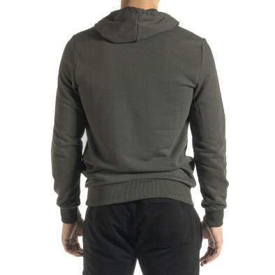 Basic мъжки суичър милитъри зелен tr160221-1 3