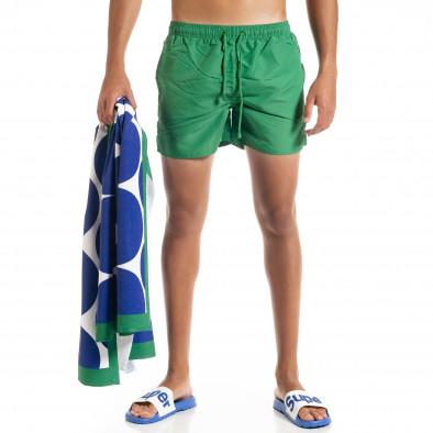 Basic мъжки зелен бански it010720-37 2