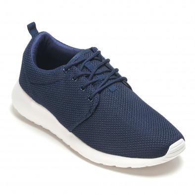 Тъмно сини мъжки маратонки ултра лек модел it210416-1 3