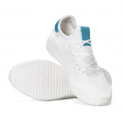 Мъжки синьо-бели леки маратонки  it240418-27 4