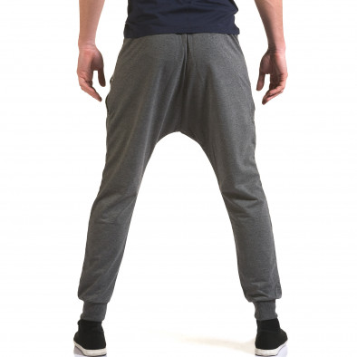 Мъжки сиви потури със сребристи ципове it090216-41 3
