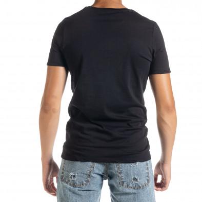 Мъжка тениска Panda Criminal в черно tr010720-23 3