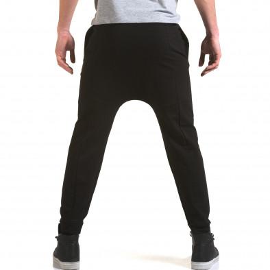 Мъжки черни потури със смъкнато дъно it090216-62 3