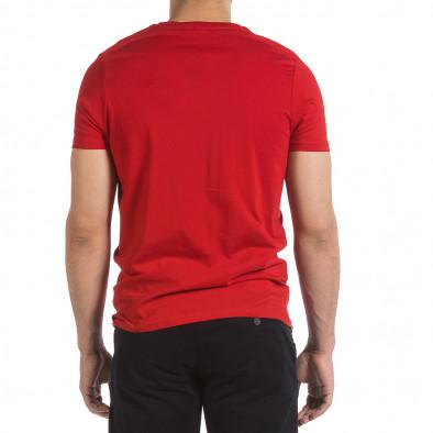 Мъжка червена тениска New York City it040621-8 3