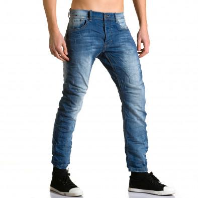 Мъжки дънки с допълнители шевове Justing 5