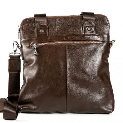 Мъжка чанта с универсално приложение 1182-brown 3
