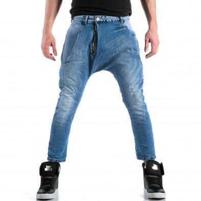 Мъжки дънки с големи яки джобове отпред ca110215-33 6