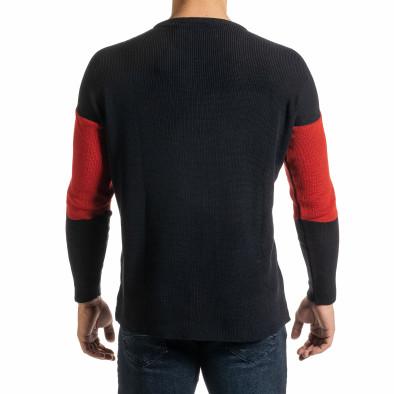 Oversize пуловер с цветни блокове it301020-27 3