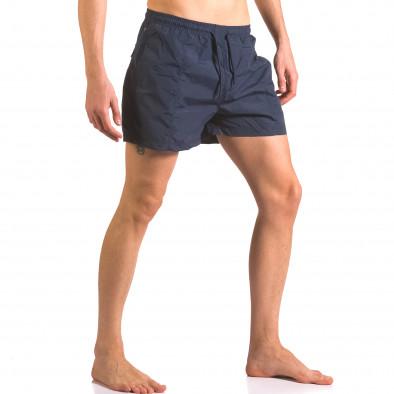 Мъжки бански шорти тъмни сини бързосъхнещи Parablu 5