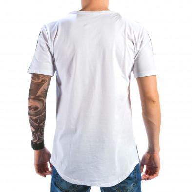 Мъжка сива тениска с Роки  Catch 4