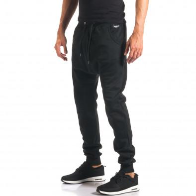 Мъжки черни потури изчистен модел it160816-20 4