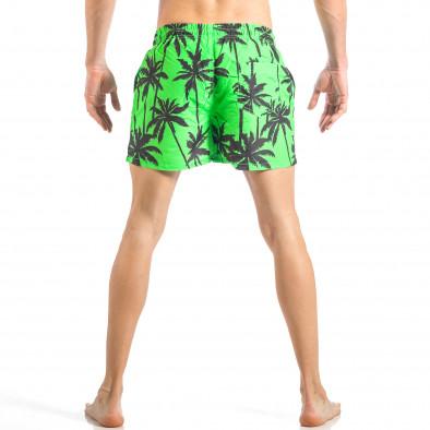 Мъжки зелен бански на палми it040518-99 4