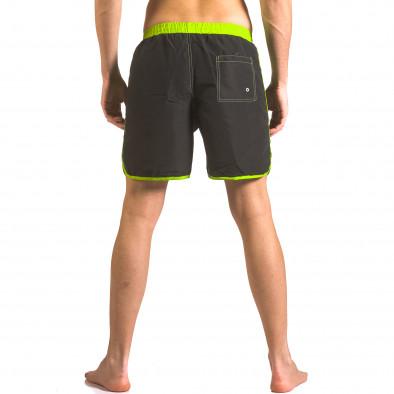 Черни бански шорти с 3 джоба ca050416-31 3
