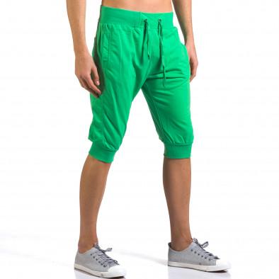 Мъжки зелени къси потури класически модел it160316-19 4