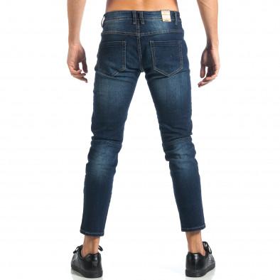 Мъжки дънки с декоративни ципове it260917-72 3
