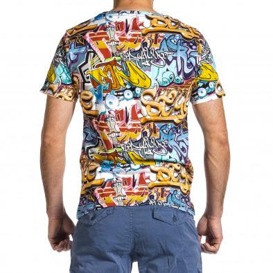 Мъжка тениска с комикси Style it200421-5 4