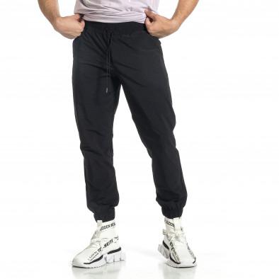 Мъжки шушляков панталон Jogger в черно tr150521-26 2