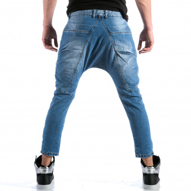 Мъжки дънки с големи яки джобове отпред ca110215-33 5