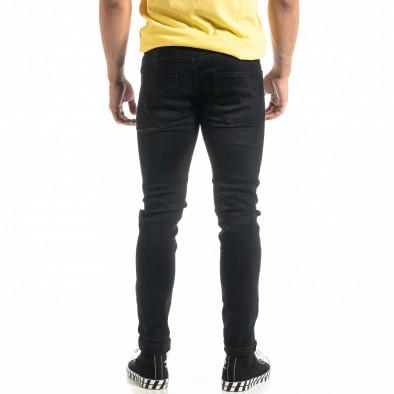 Slim fit Basic мъжки черни дънки it020920-17 3