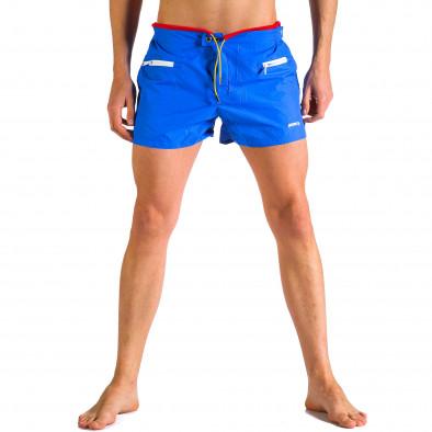 Мъжки сини бански с бандаж Justboy 4