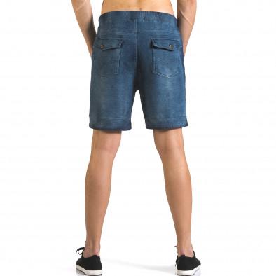 Мъжки шорти с ефект на дънки it110316-79 3