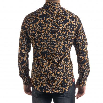 Slim fit мъжка риза флорален десен tr110320-96 3