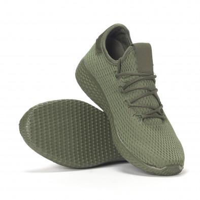 Мъжки зелени леки маратонки All-green it240418-7 4