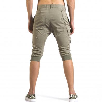 Мъжки зелени къси панталони тип потури it110316-52 3