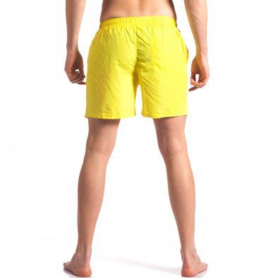 Мъжки жълти бански с малка емблема it250416-49 3