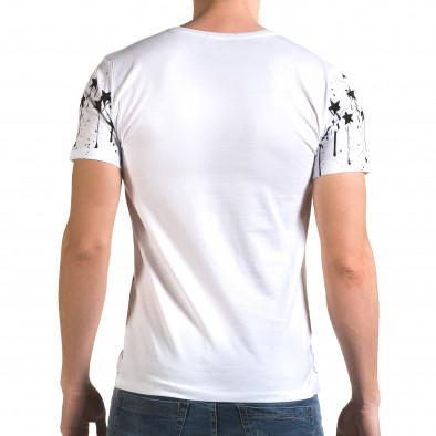 Мъжка бяла тениска Armystar il120216-40 3