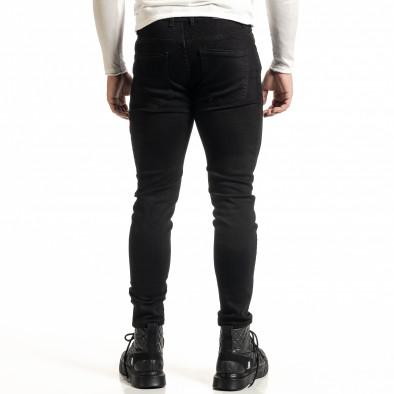 Basic мъжки черни дънки Capri fit it231220-23 3