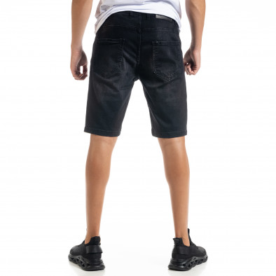 Big Size Basic мъжки черни къси дънки tr010720-18 3