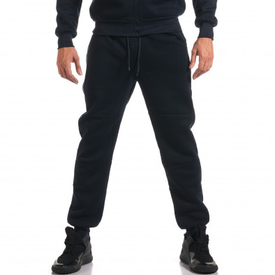 Мъжки син спортен комплект с декоративни ципове it160916-54 5