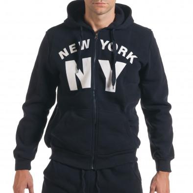 Мъжки син спортен комплект NY it160916-63 4