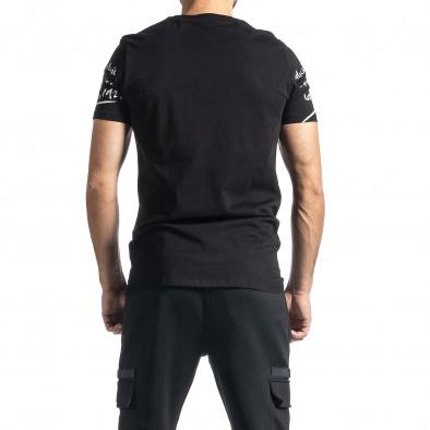 Мъжка черна тениска Mickey tr010221-6 3