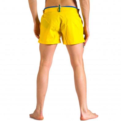 Мъжки жълти бански с бандаж it250416-63 3